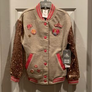 Disney-Girl's Size 5/6 (BNWT) Super Awesome Jacket